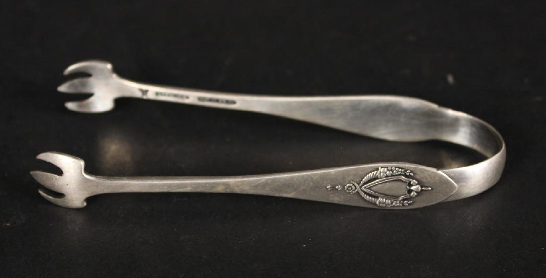 Group of Sterling Silver Tongs - 2