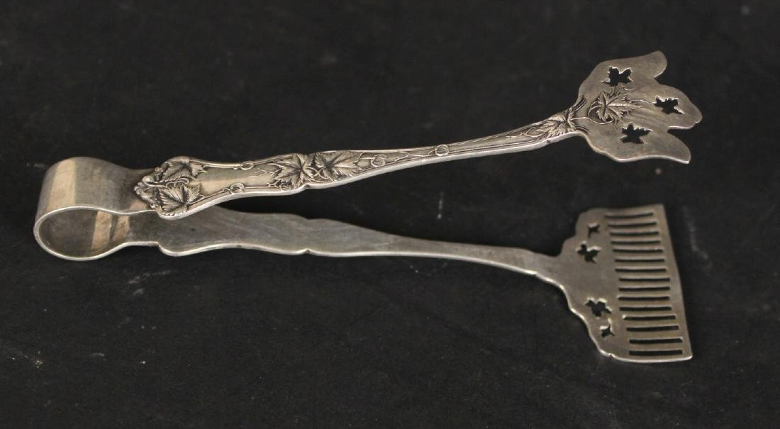 Group of Sterling Silver Tongs - 4