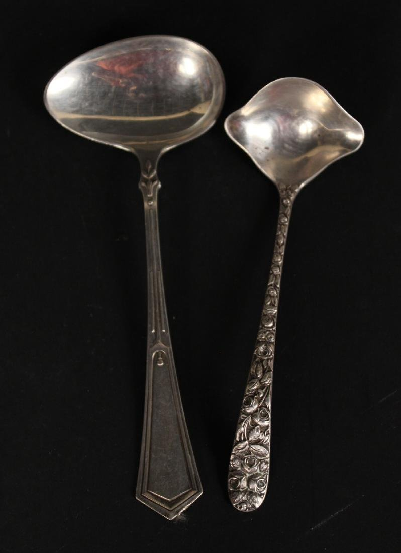 Group of Sterling Silver Flatware Serving - 4