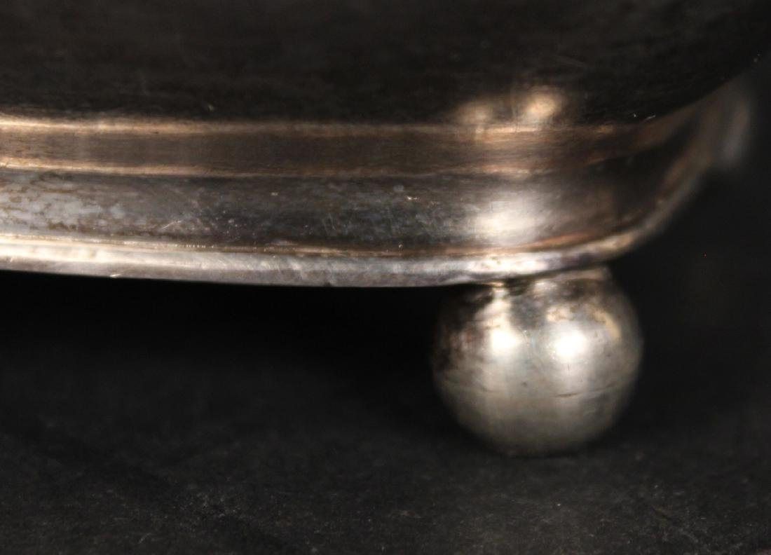 Unmarked American Coin Silver Sugar Bowl - 3