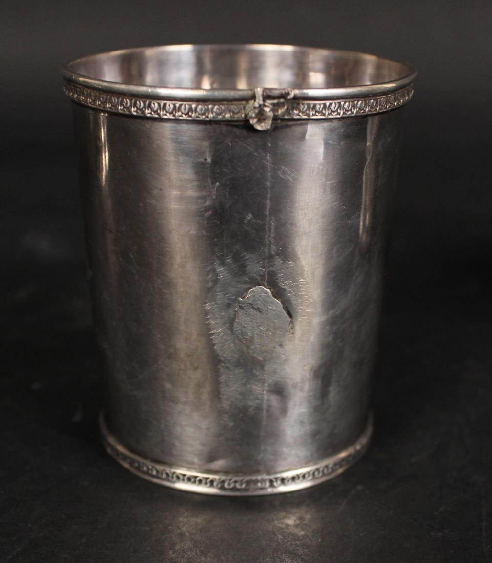 Gorham Coin Silver Beaker & Handled Cup - 7