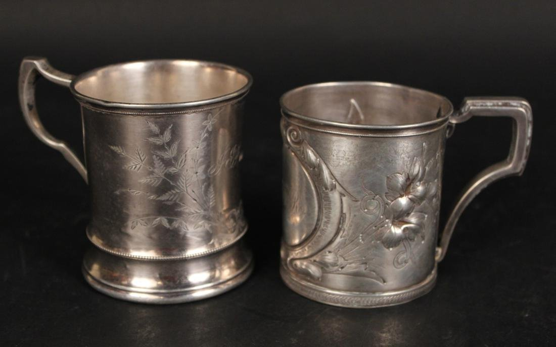 Gorham Coin Silver Beaker & Handled Cup - 9