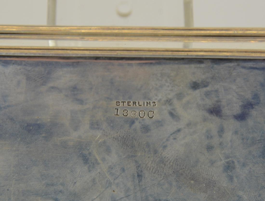 Sterling Silver Hinged Lidded Rectangular Box - 5