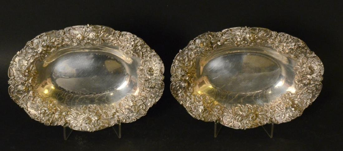 Pair of S. Kirk & Son Sterling Silver Oval Dishes