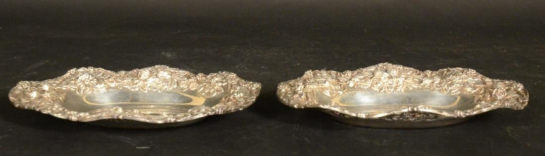 Pair of S. Kirk & Son Sterling Silver Oval Dishes - 2