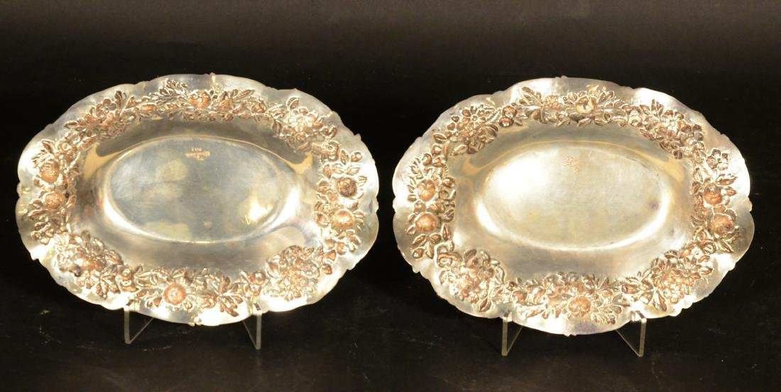 Pair of S. Kirk & Son Sterling Silver Oval Dishes - 3