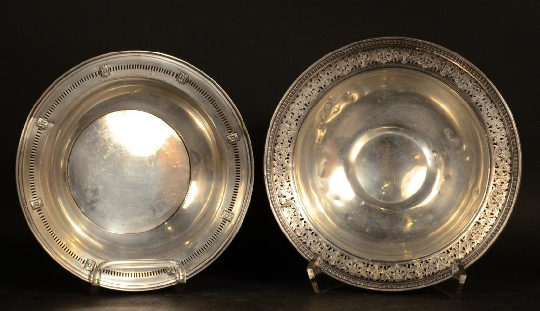 Two American Sterling Silver Circular Bowls