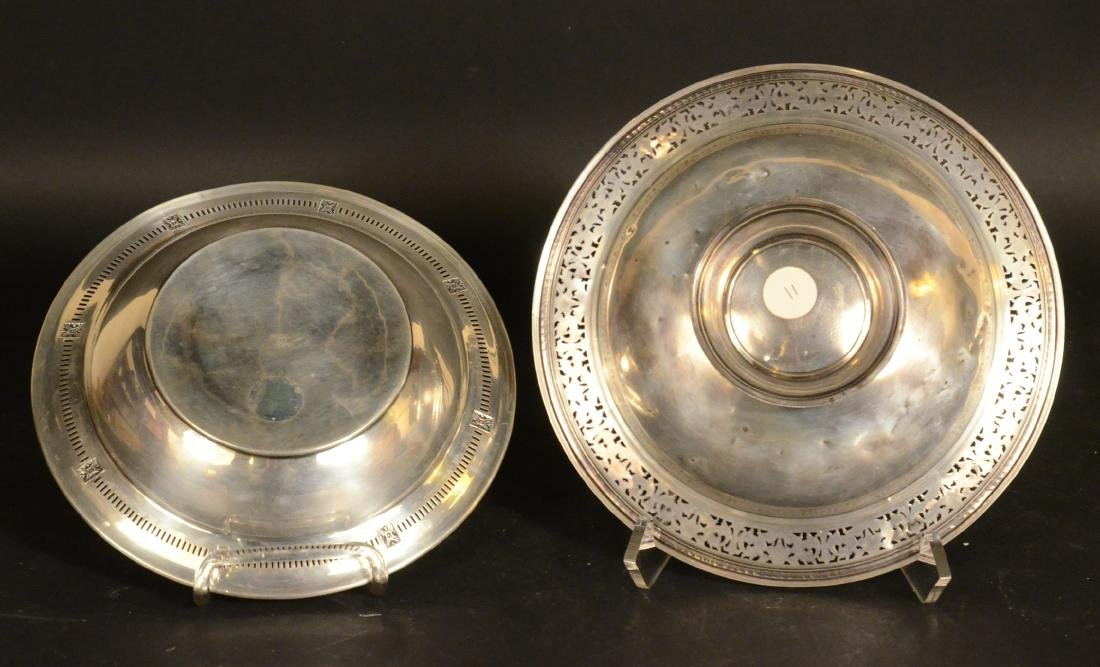 Two American Sterling Silver Circular Bowls - 4