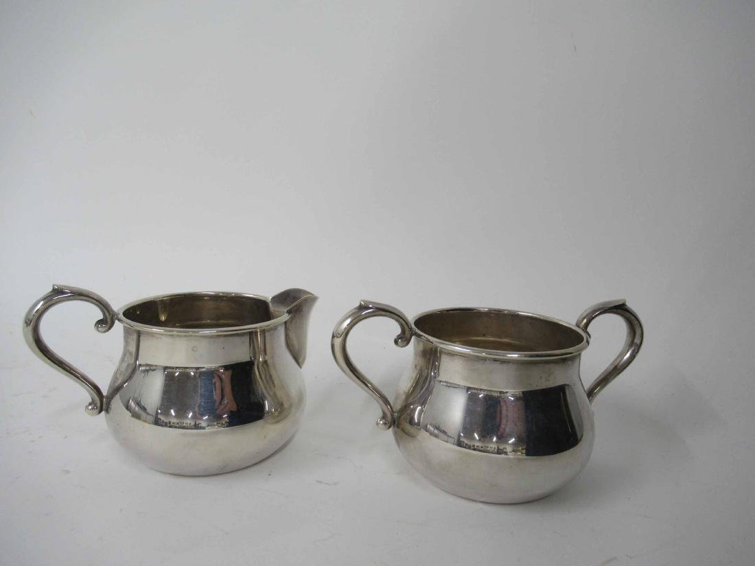 Towle Sterling Silver Sugar Bowl & Creamer