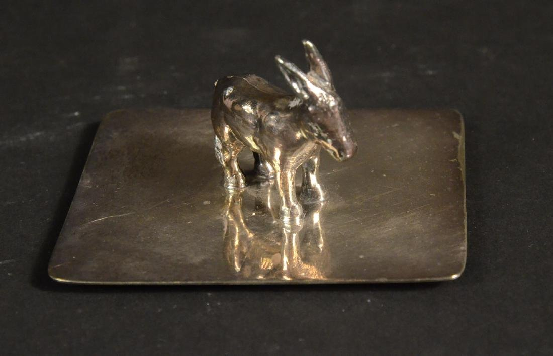 Sterling and a Brass Candle Snuffer - 3
