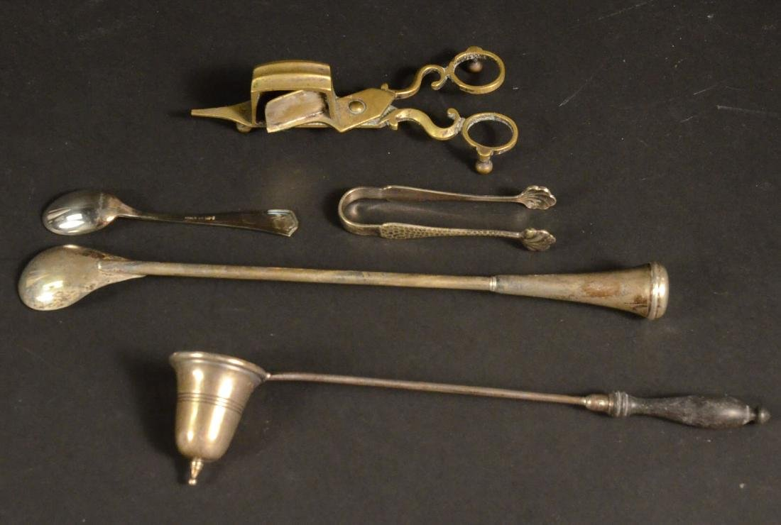 Sterling and a Brass Candle Snuffer - 6