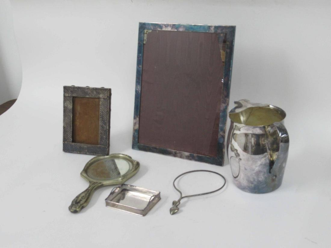 Gorham silver plated picture frame