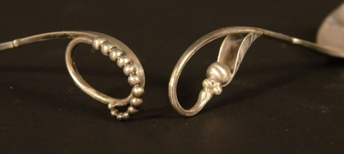 Two Georg Jensen Sterling Silver Spoons - 3