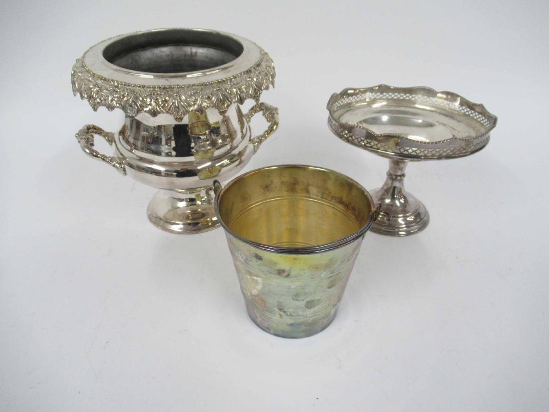 Links of London Silver Plate Ice Bucket
