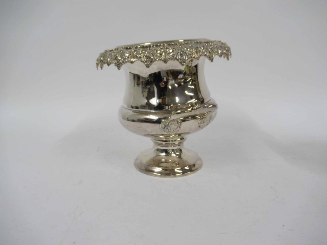 Links of London Silver Plate Ice Bucket - 9