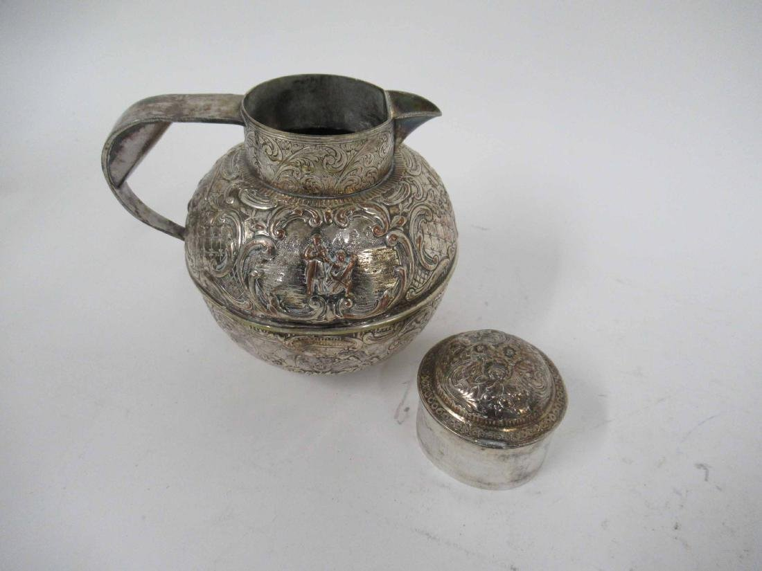 Three Silver Plate Pitchers - 6