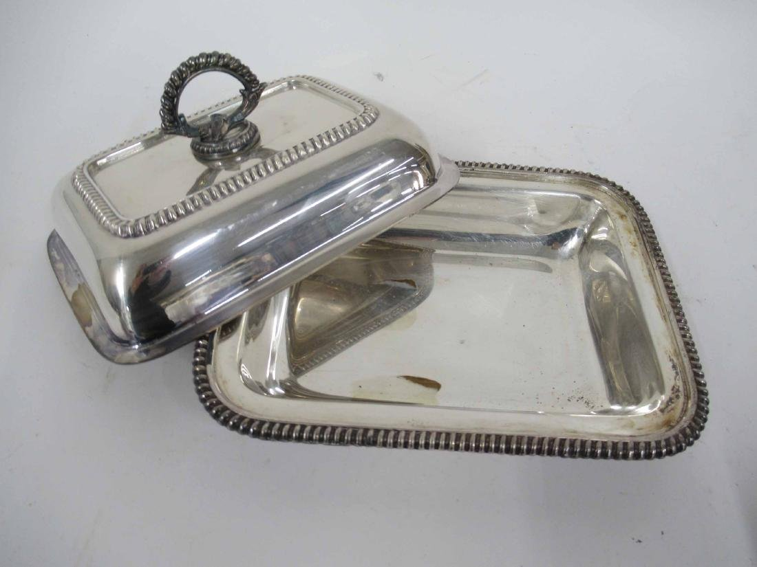 Four Silver Plate Table Articles - 6