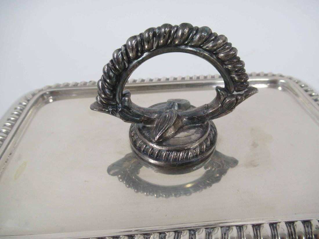 Four Silver Plate Table Articles - 8
