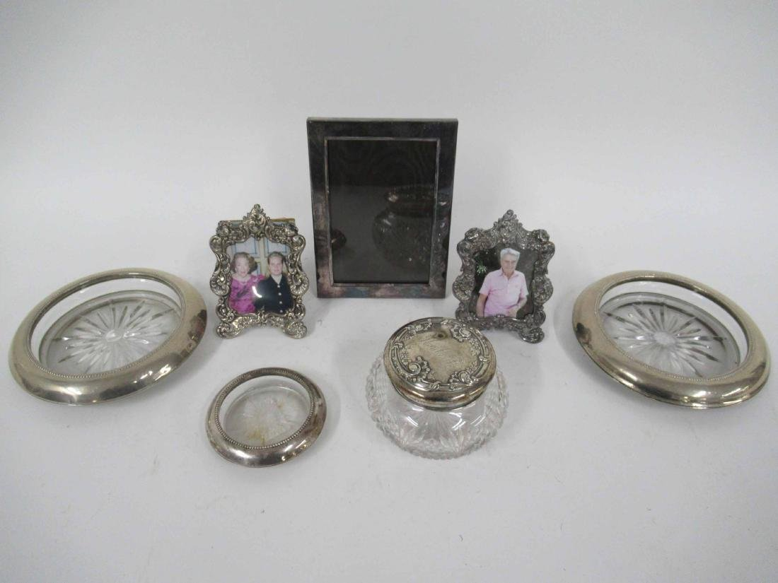 Two Sterling Silver Frames