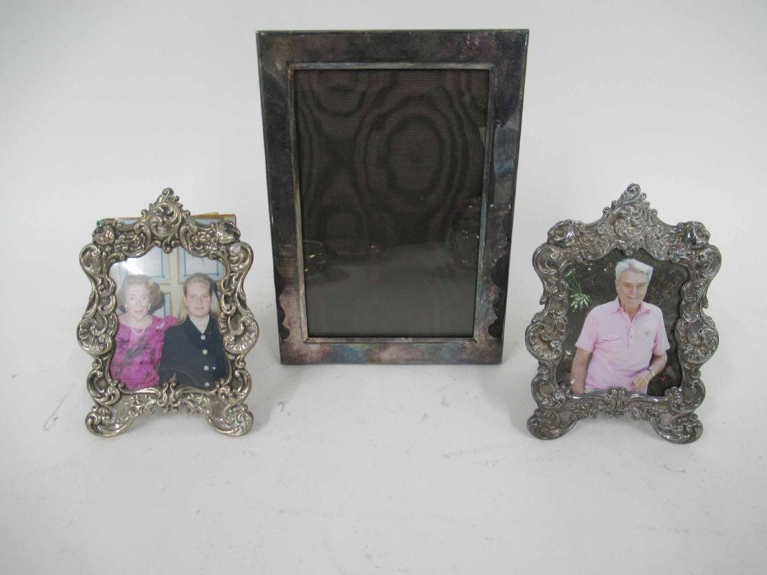 Two Sterling Silver Frames - 2