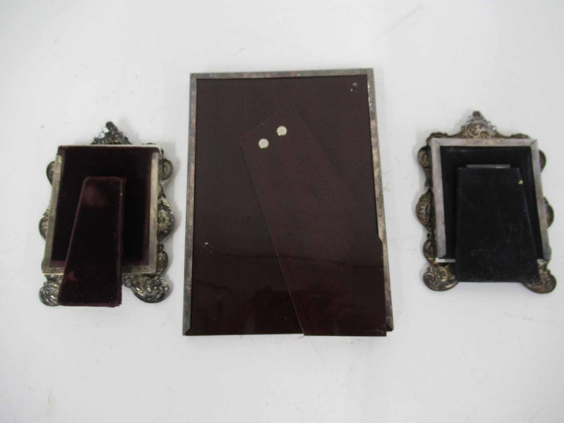 Two Sterling Silver Frames - 3