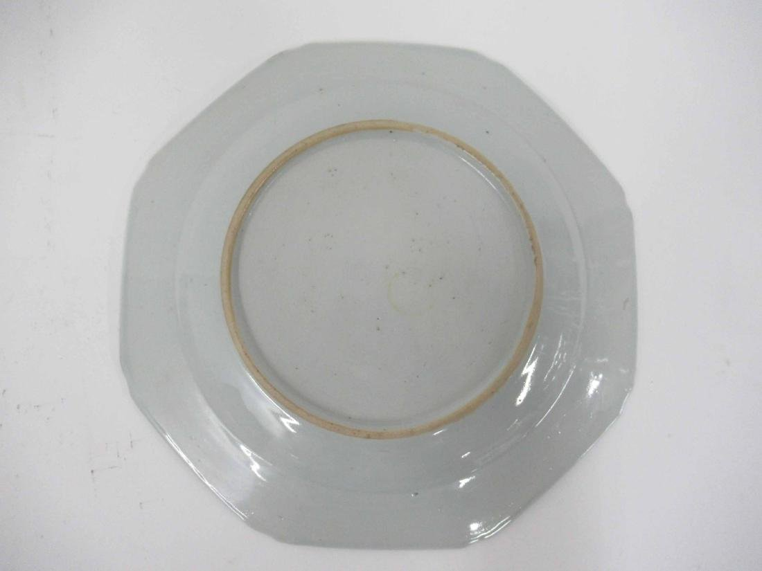 Two Chinese Porcelain Octagonal Plates - 4