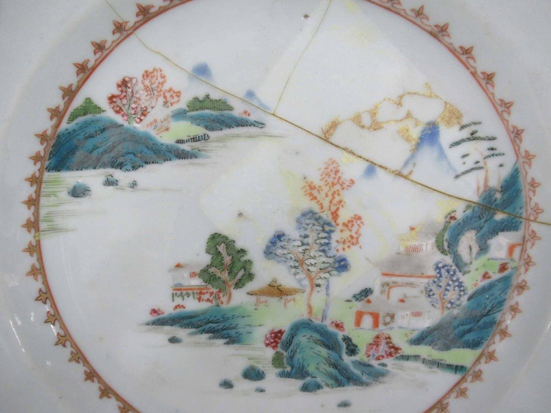 Two Chinese Porcelain Octagonal Plates - 6