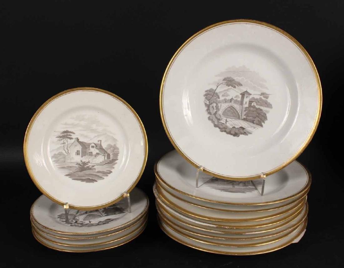 Partial Porcelain Dessert Service - 5