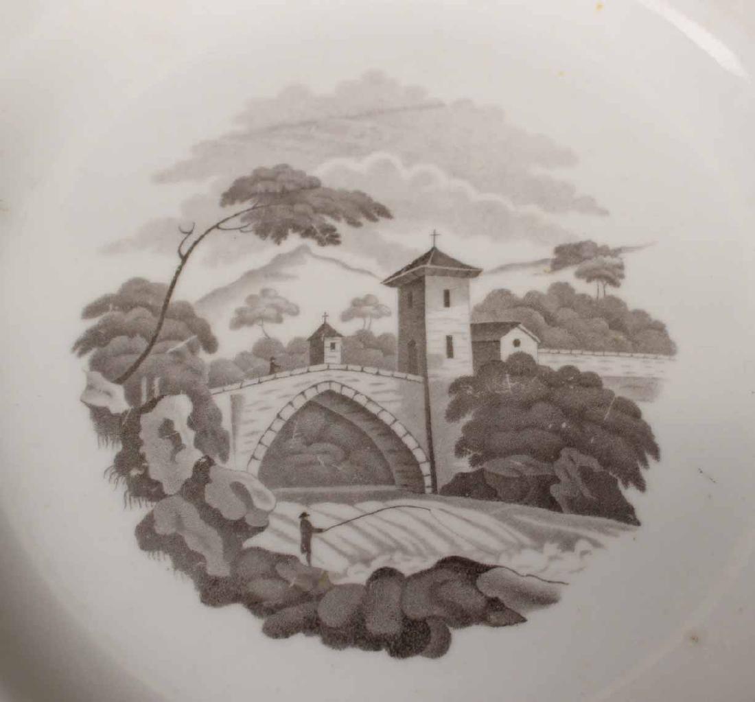 Partial Porcelain Dessert Service - 6