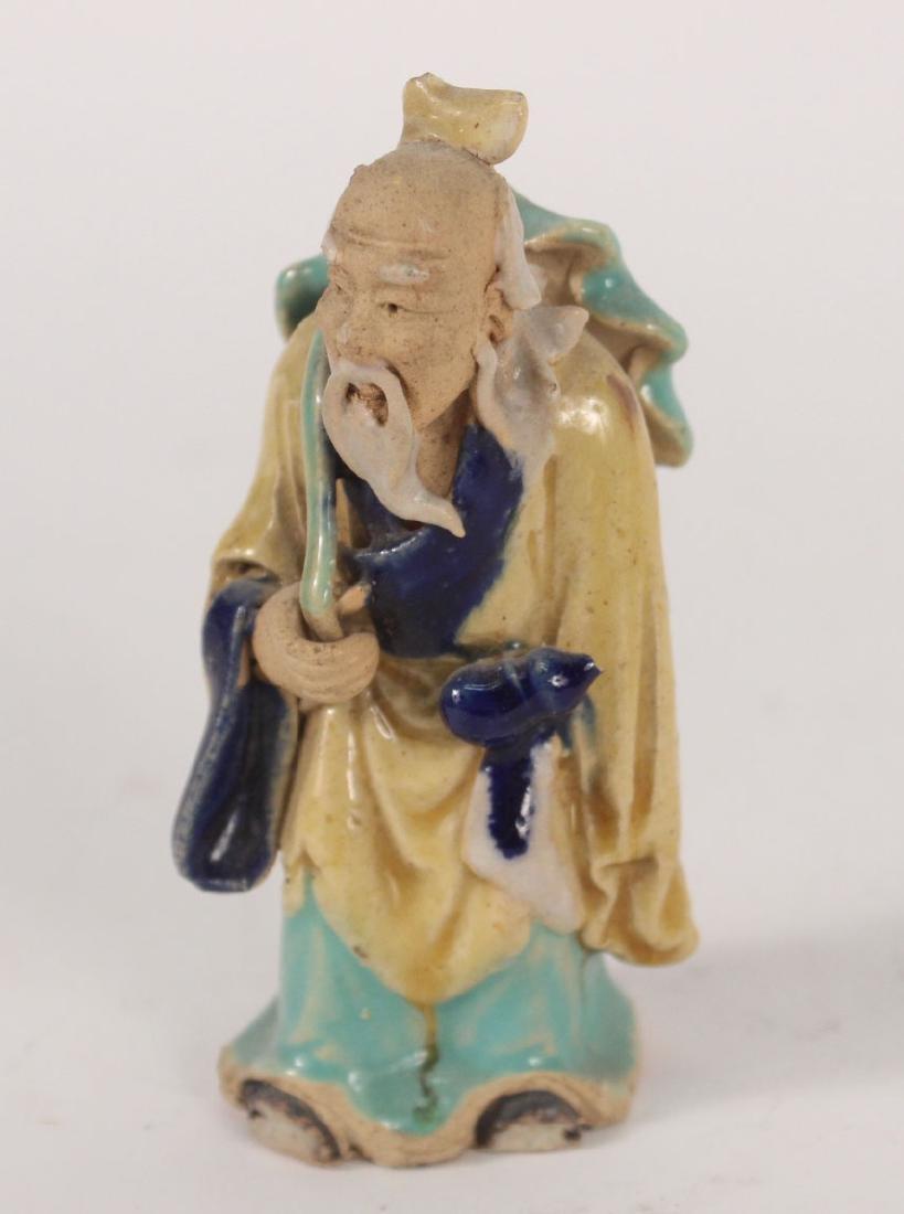 Twelve Chinese Painted Figures - 10