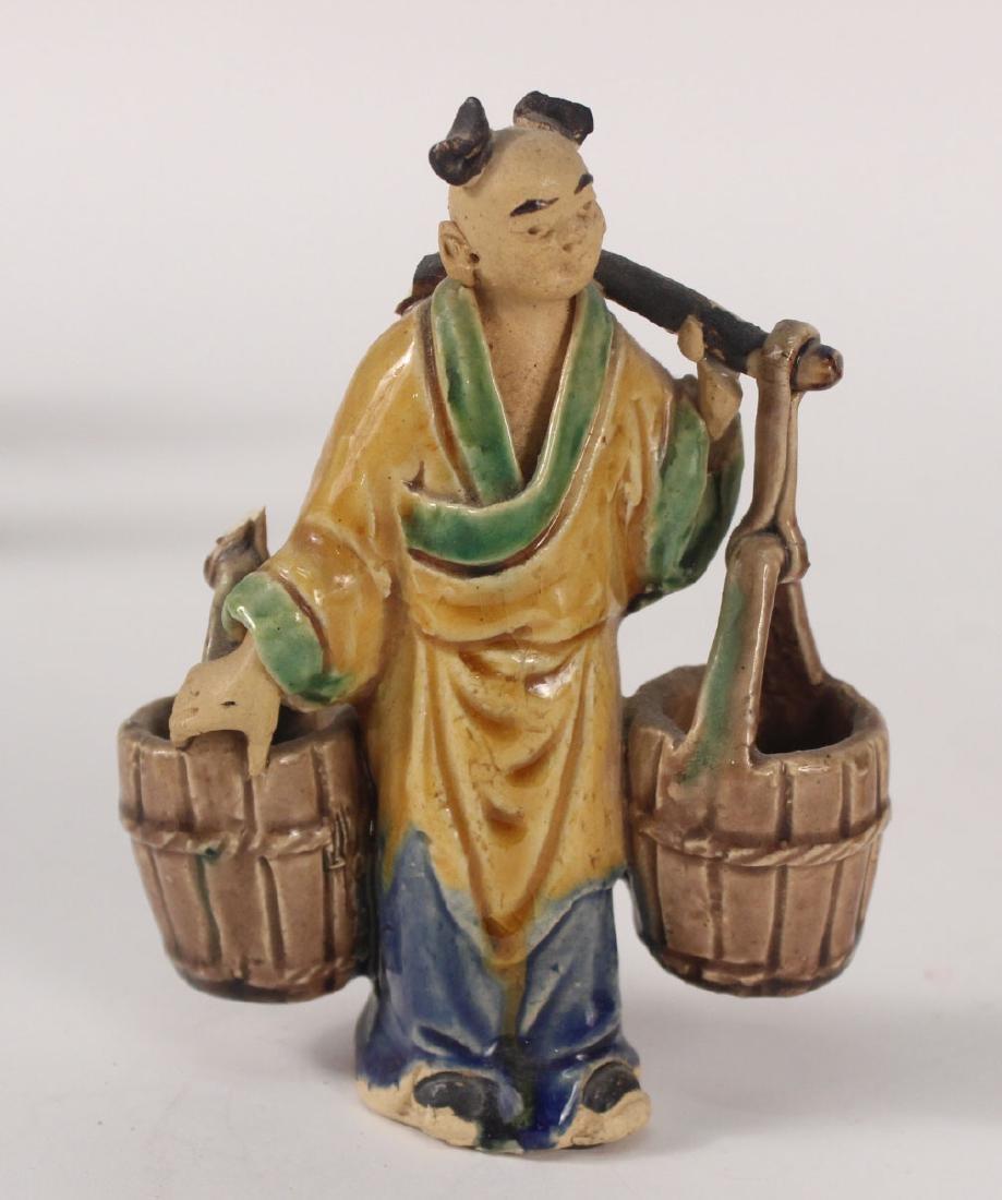 Twelve Chinese Painted Figures - 4