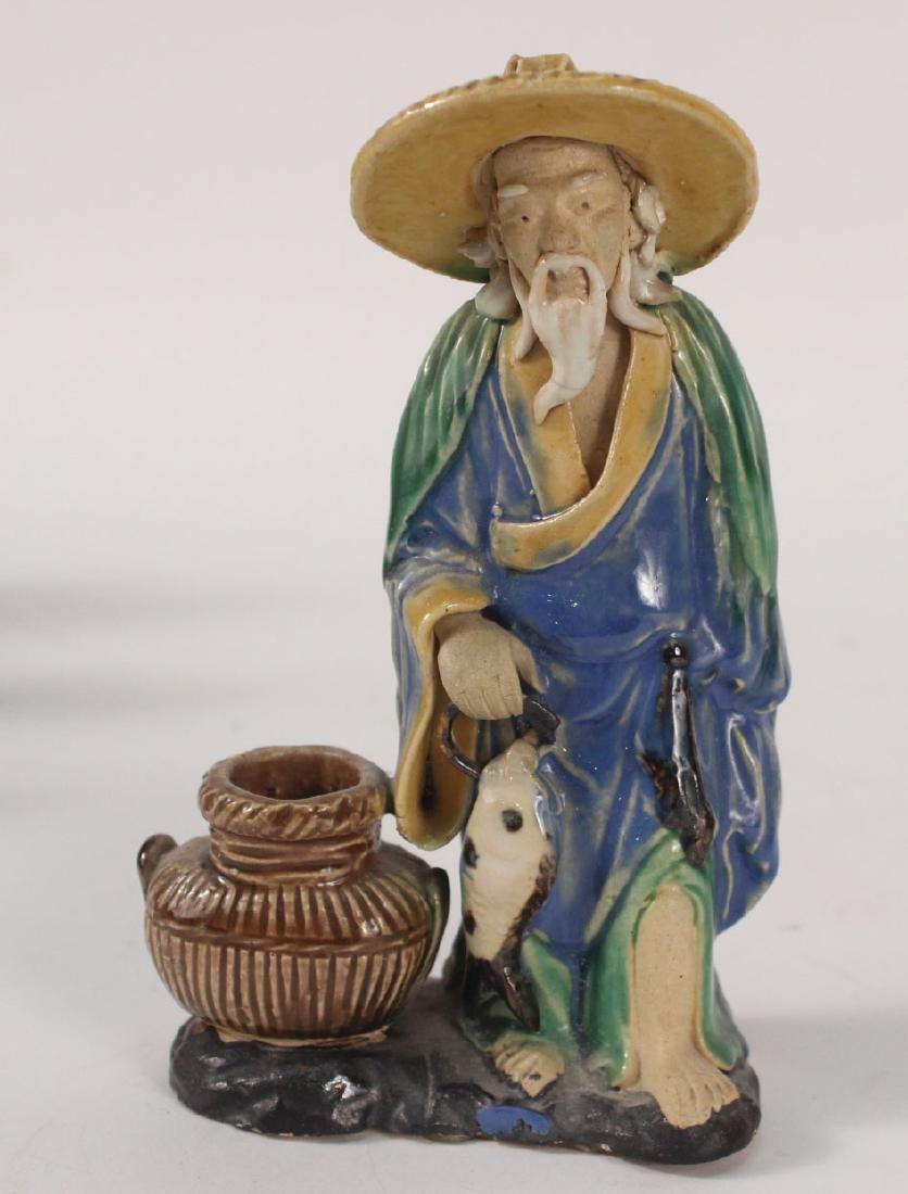 Twelve Chinese Painted Figures - 5