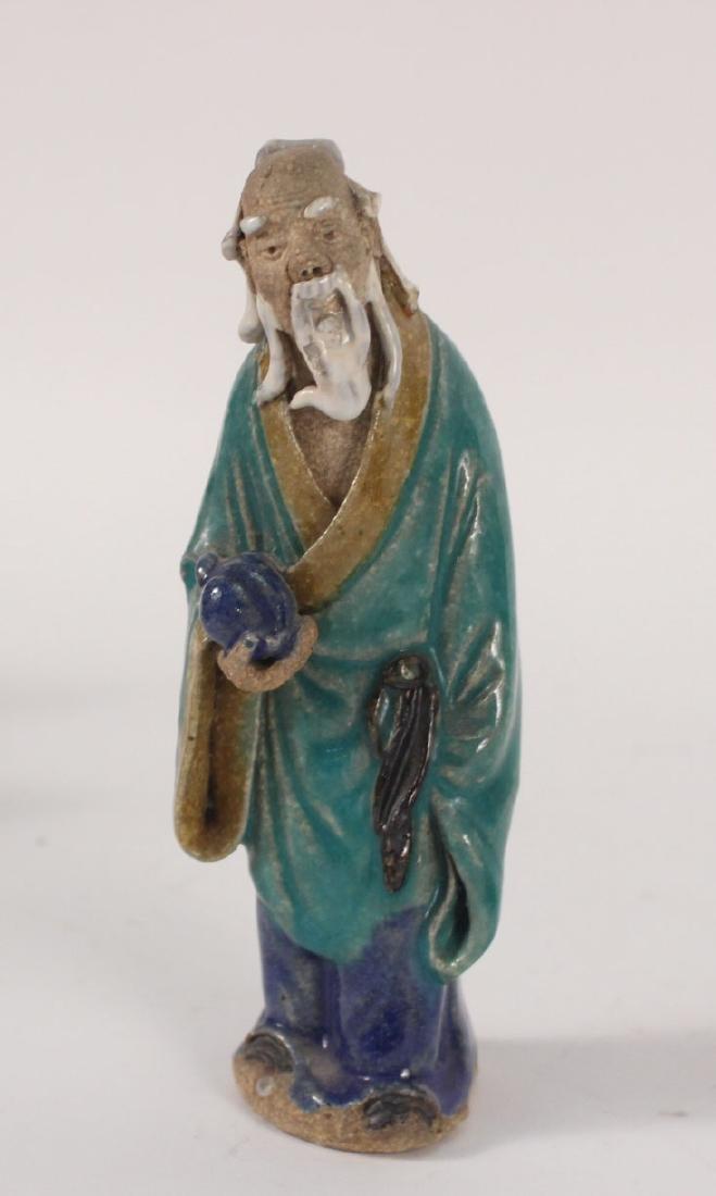 Twelve Chinese Painted Figures - 6