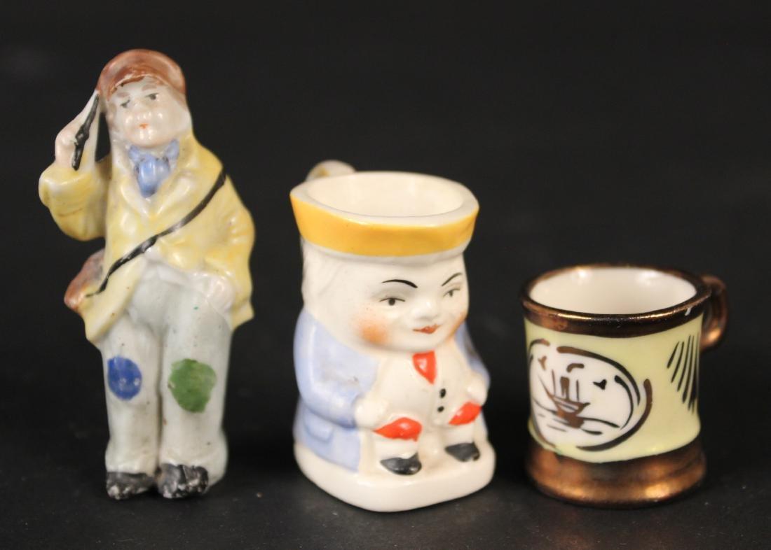 Miniature Porcelain Toby Jug
