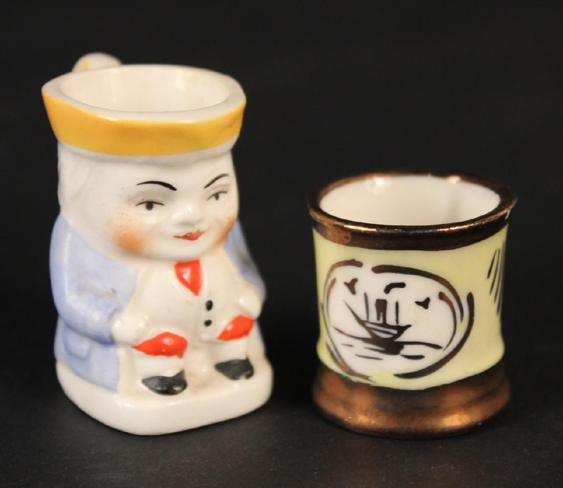 Miniature Porcelain Toby Jug - 2