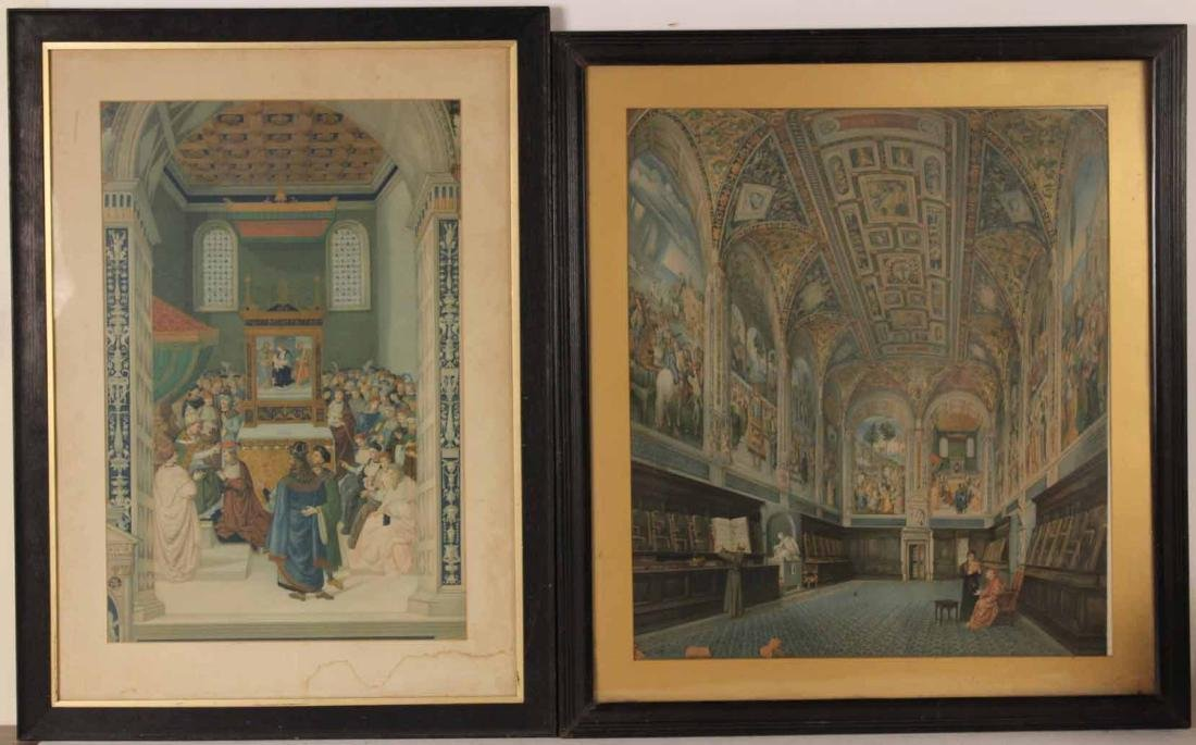 Two Religious Color Prints