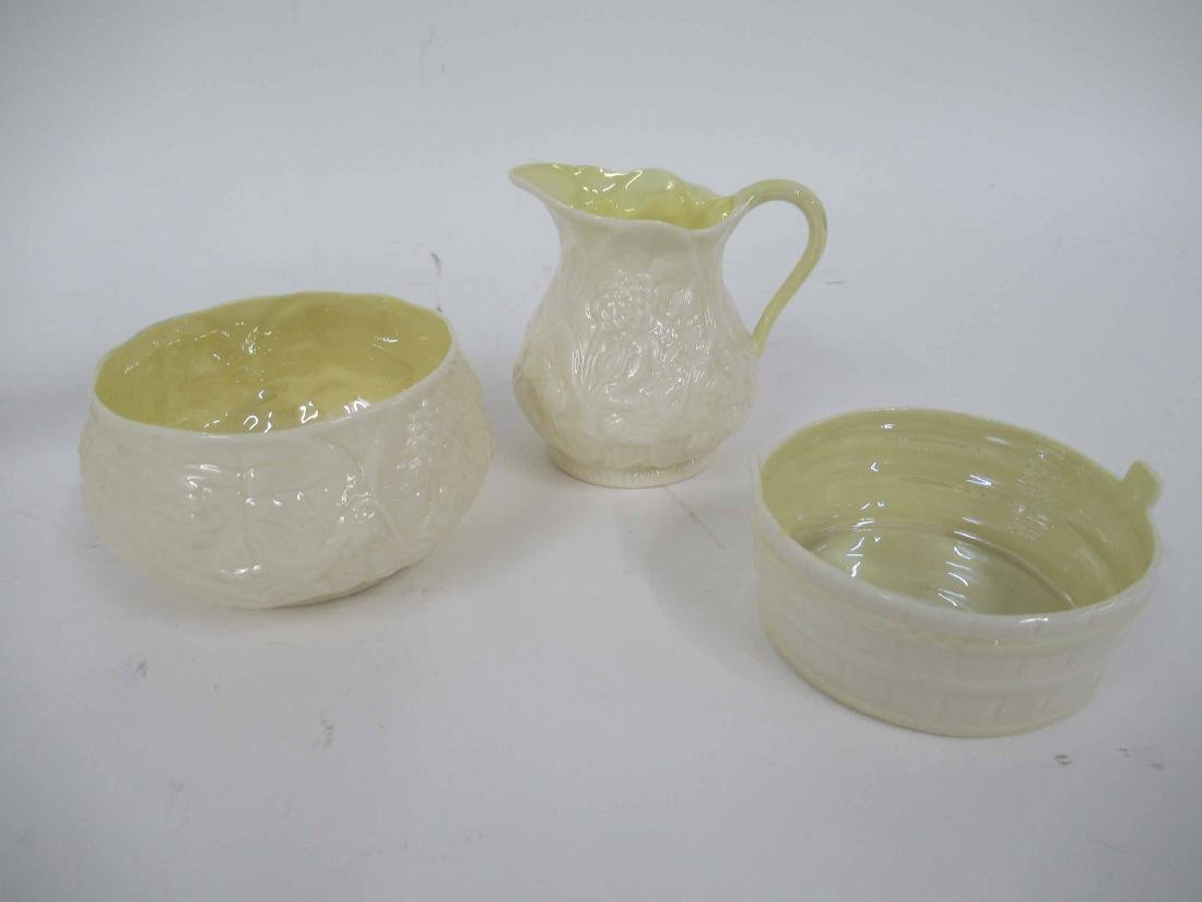 Five Assorted Belleek Table Articles - 2