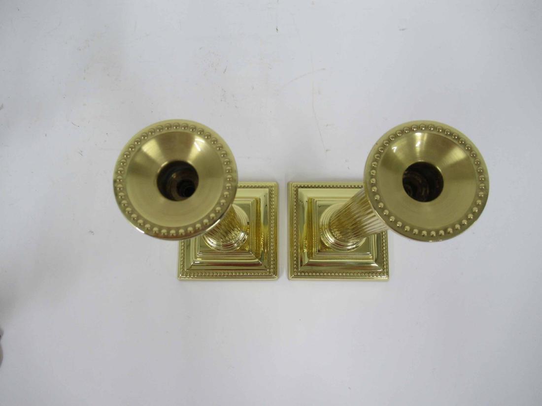 Two Set of Brass Candlesticks - 7