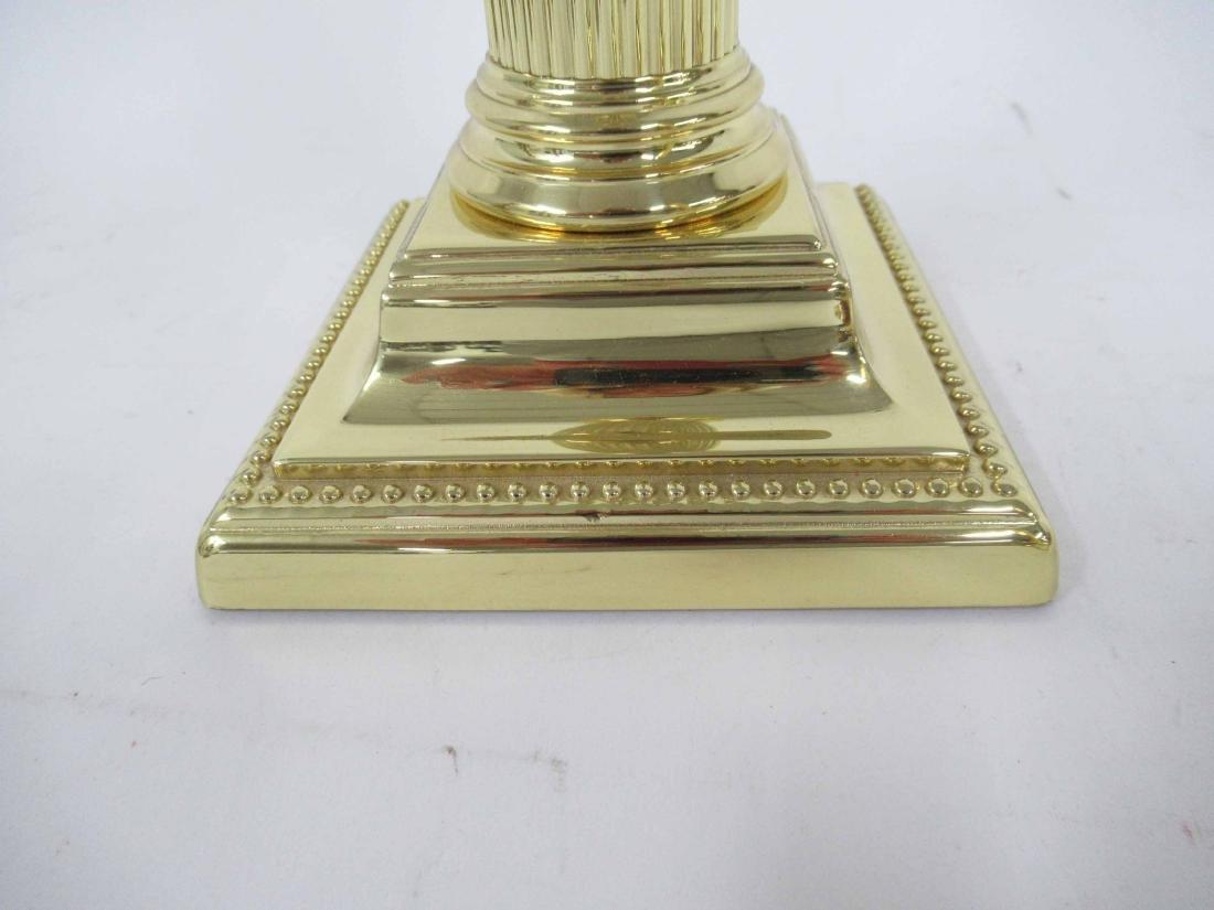 Two Set of Brass Candlesticks - 8