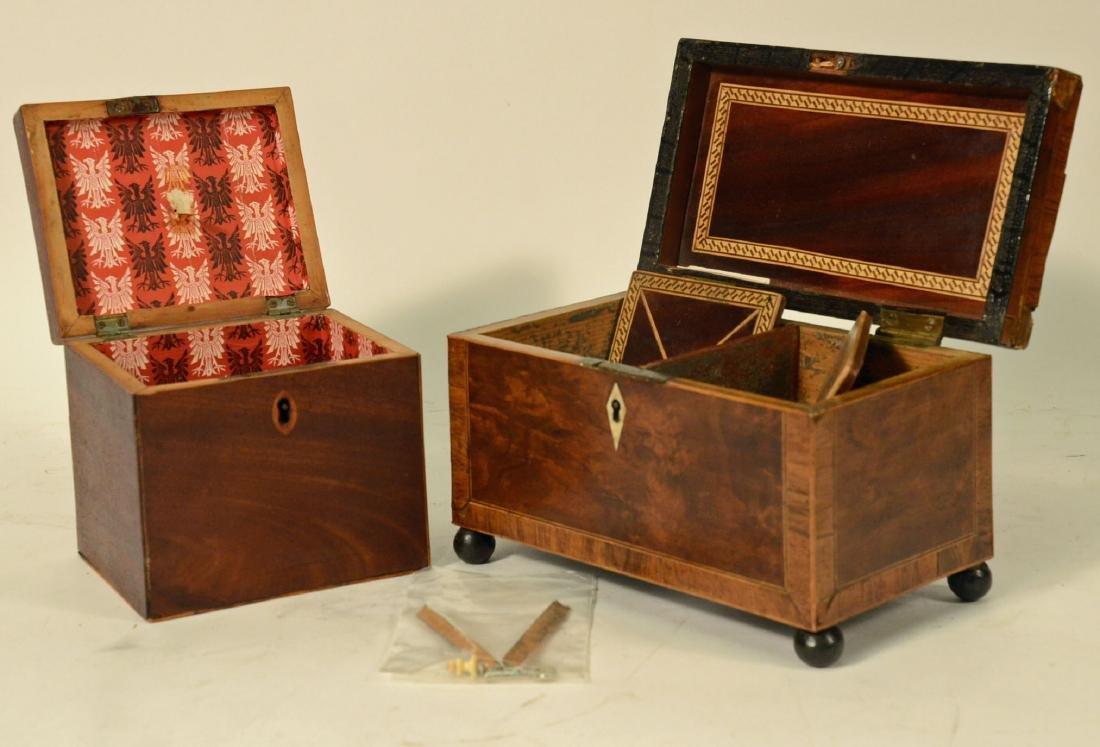 Two George III Tea Caddy's - 3
