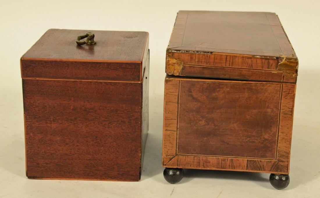 Two George III Tea Caddy's - 5