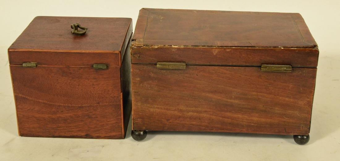 Two George III Tea Caddy's - 6