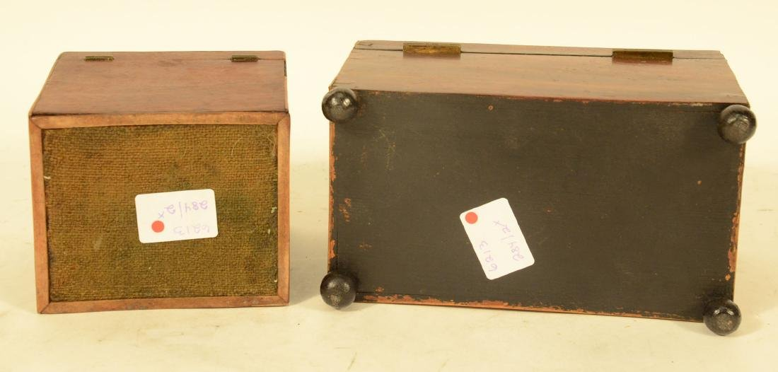Two George III Tea Caddy's - 7