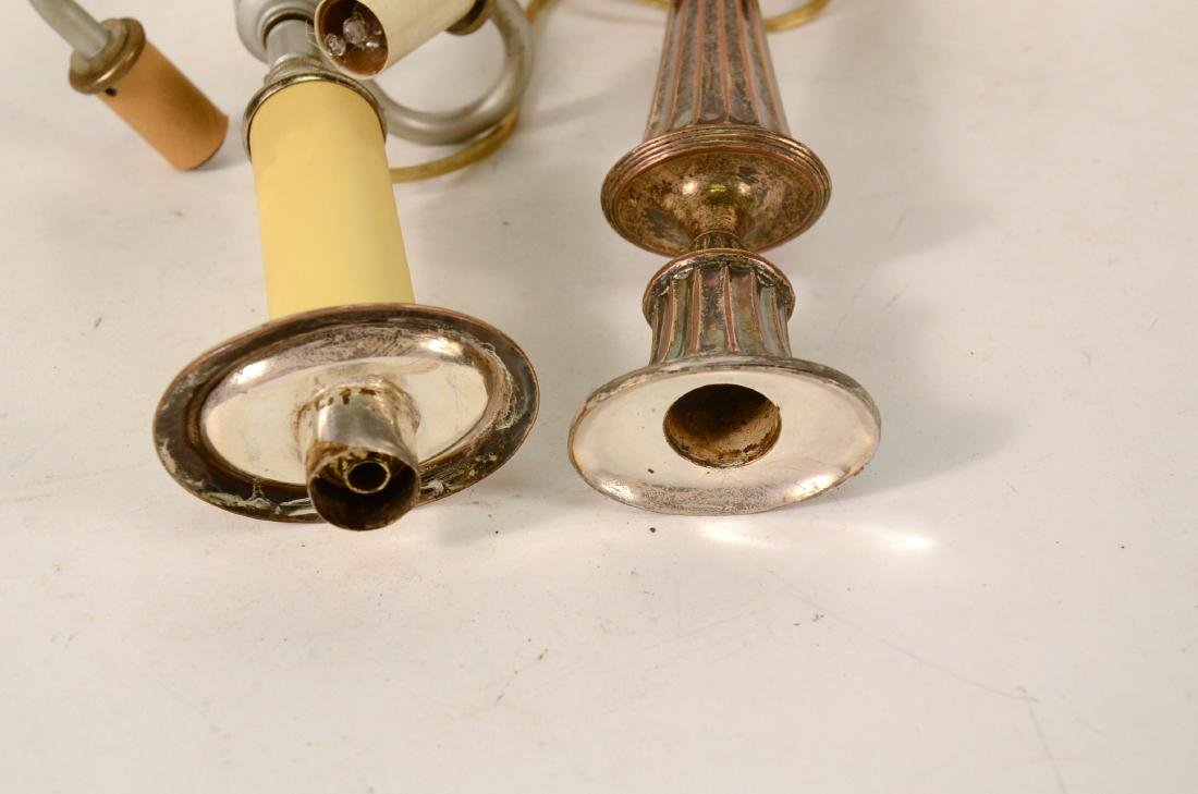 Regency Silver Plated Candlestick - 4