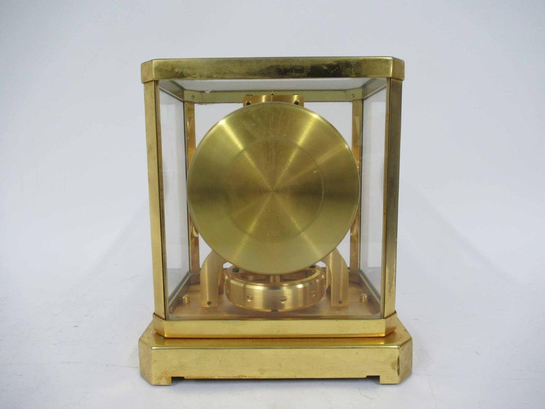 Le Coultre Brass Mantel Clock - 3