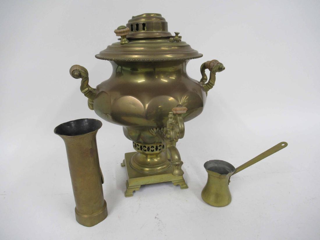 Brass Samovar - 4
