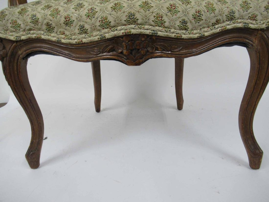 Pair of Louis Xv Style Arm Chairs - 6