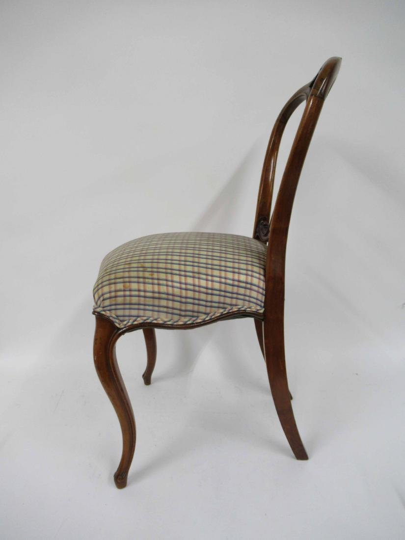 Four Louis XV Style Armless Dining Chairs - 3