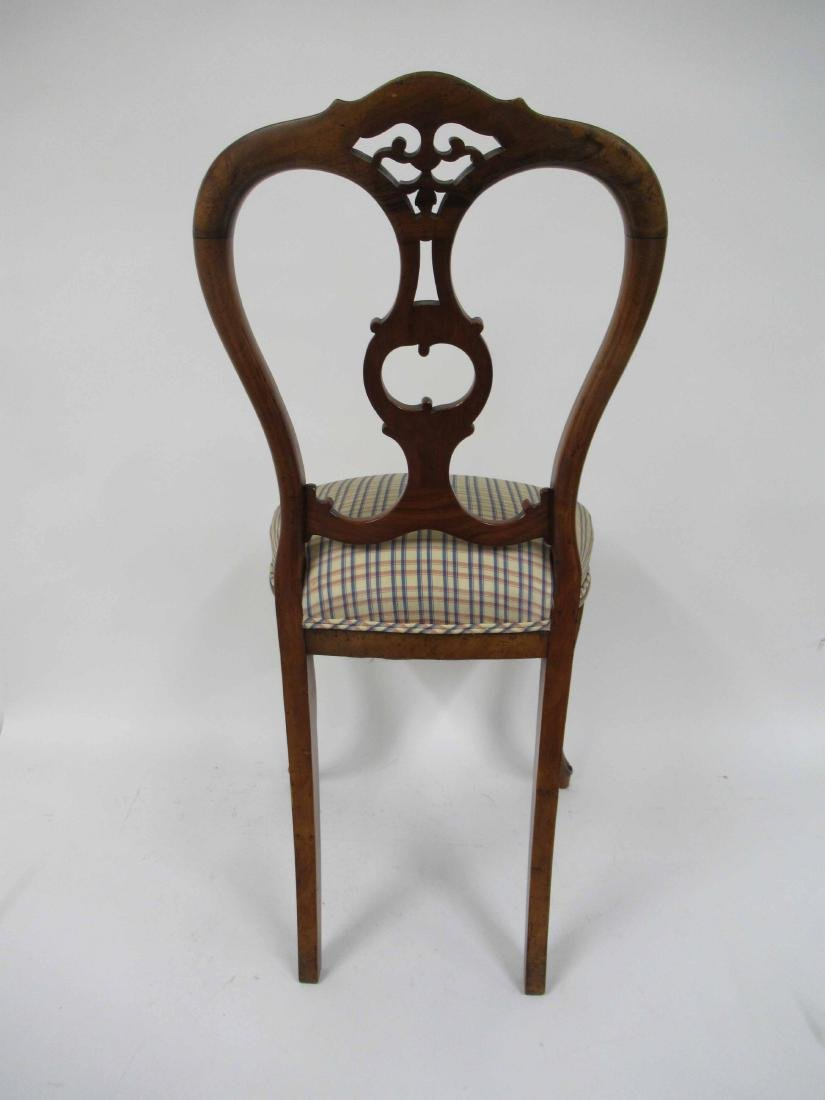 Four Louis XV Style Armless Dining Chairs - 4