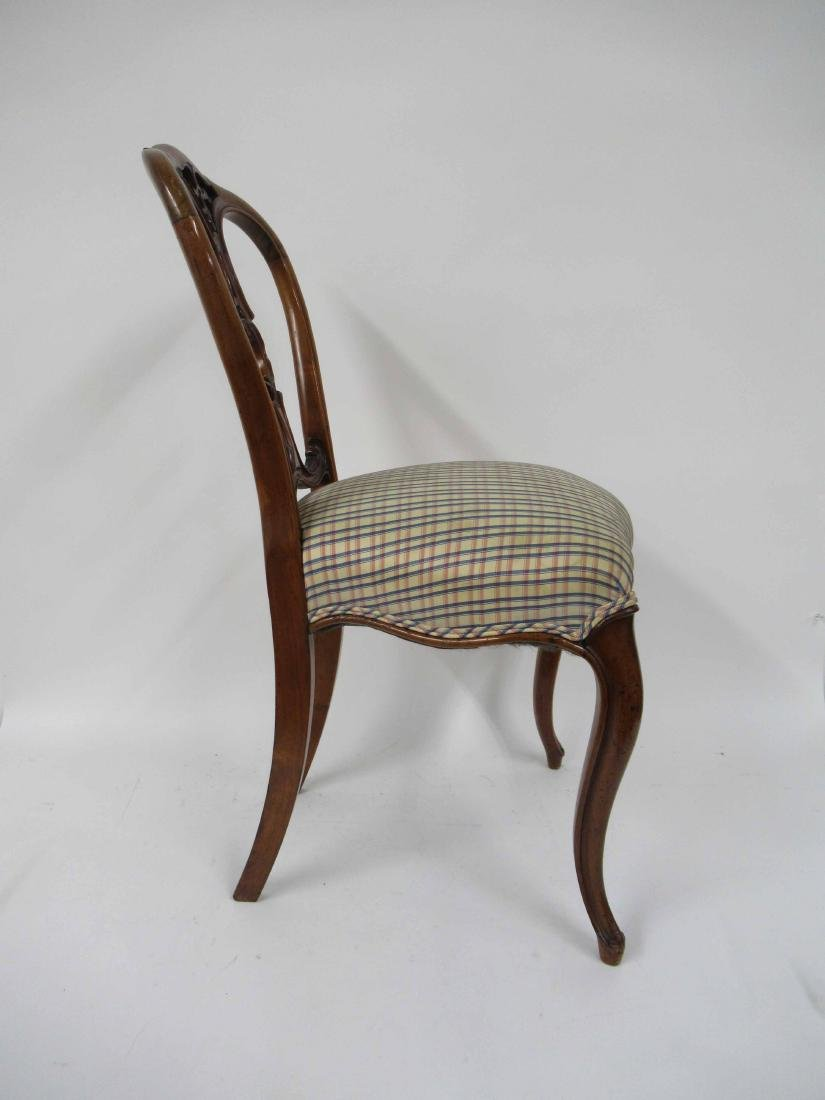 Four Louis XV Style Armless Dining Chairs - 5